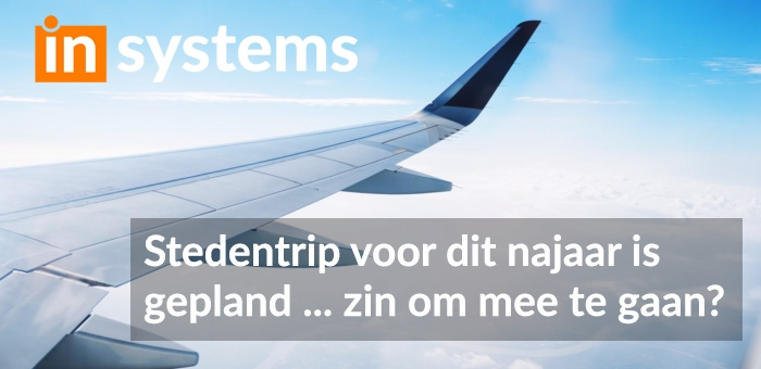 inSystems stedentrip 2019